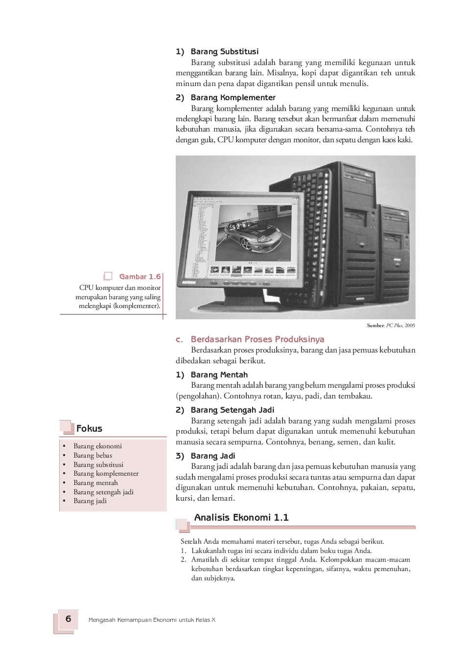 Jual Buku Sma Kelas 10 Ekonomi Mengasah Kemampuan Ekonomi Oleh Aristanti Widyaningsih