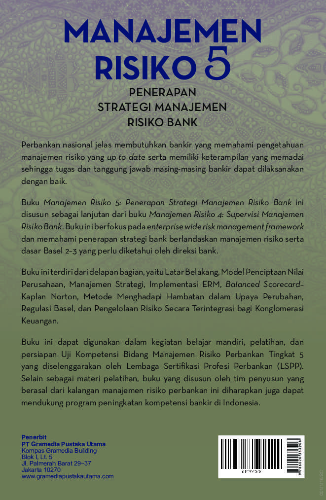 penerapan manajemen risiko pada bank Bab ii = penerapan manajemen risiko dalam kegiatan lnp paling sedikit mengacu pada pedoman penerapan manajemen risiko pada bank yang.