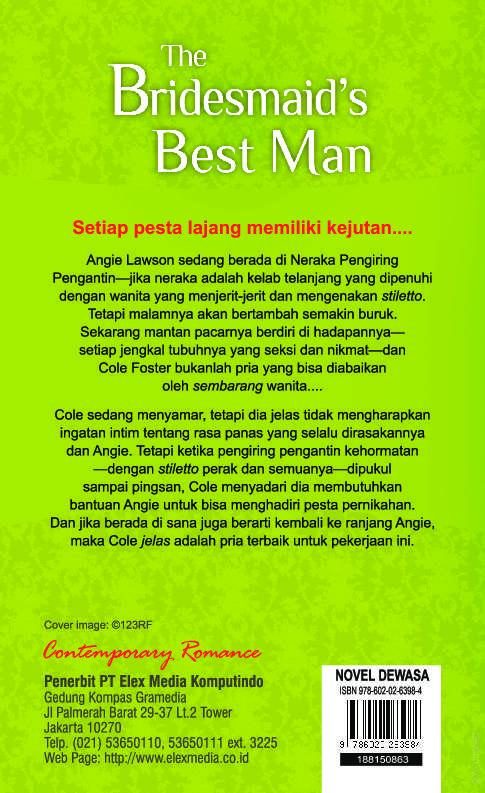 Hq Tempt The Bridesmaids Best Man Book By Susanna Carr Gramedia