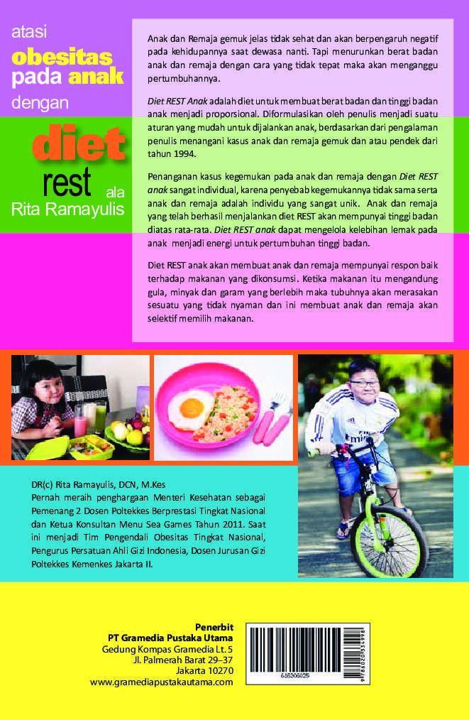 Atasi Obesitas Pada Anak Dengan Diet Rest Ala Rita ...