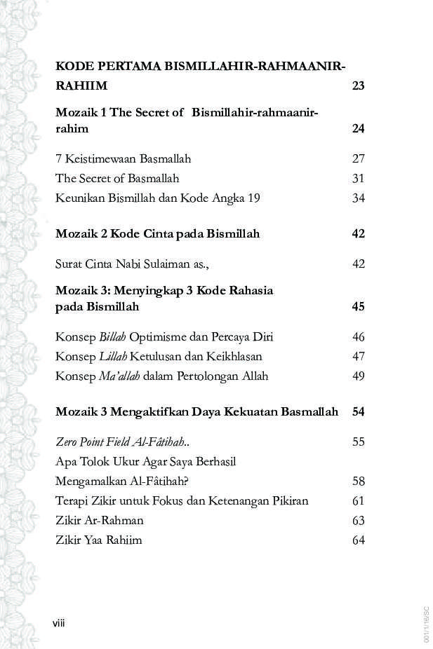 Jual Buku 7 Kode Rahasia Al Fatihah Oleh Miftahur Rahman El