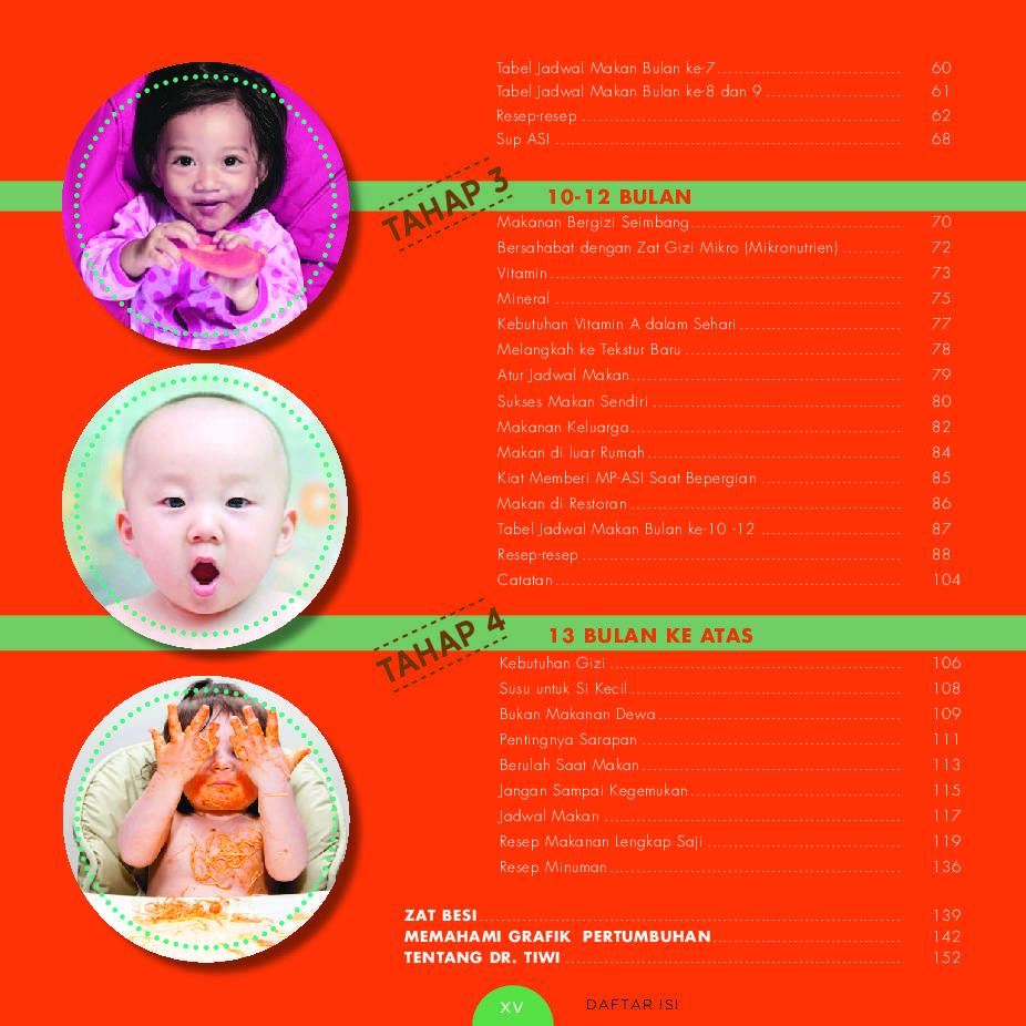 Ebook 12 download pertama bayi bulan