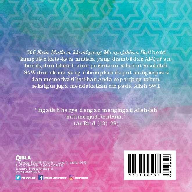 366 Kata Mutiara Islami Yang Menyejukan Hati Book By Irma Irawati