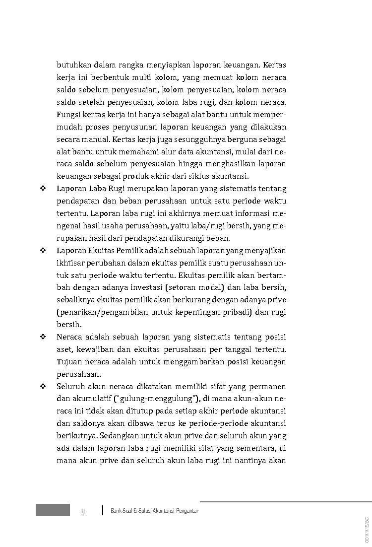 Jual Buku Akuntansi Pengantar Quot Bank Soal Dan Solusi Quot Oleh Hery S E M Si Gramedia Digital