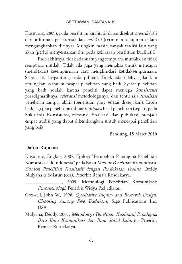 Jual Buku Menulis Ilmiah Metode Penelitian Kualitatif Oleh