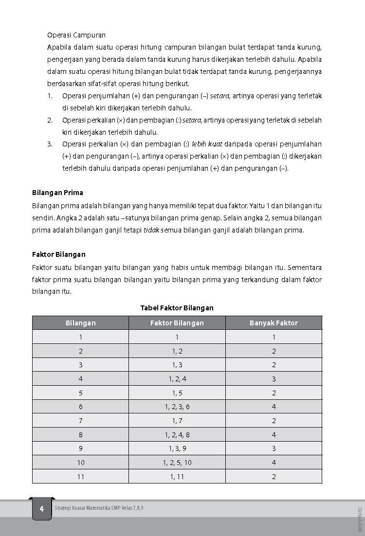 Jual Buku Strategi Kuasai Matematika Smp Kelas 7 8 9 Oleh Tim Smart Nusantara Gramedia