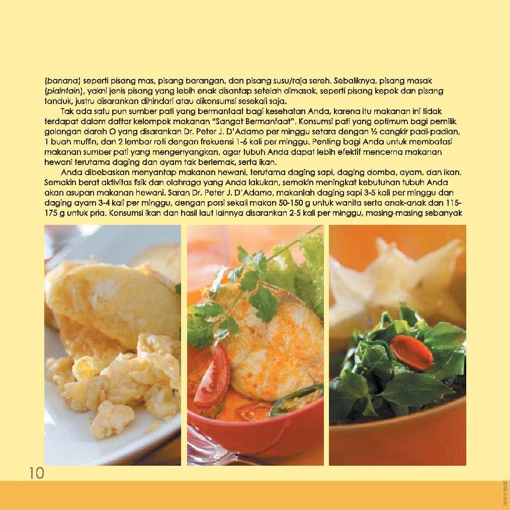 Jual Buku 81 Diet Sehat Golongan Darah O sang Wied Harry