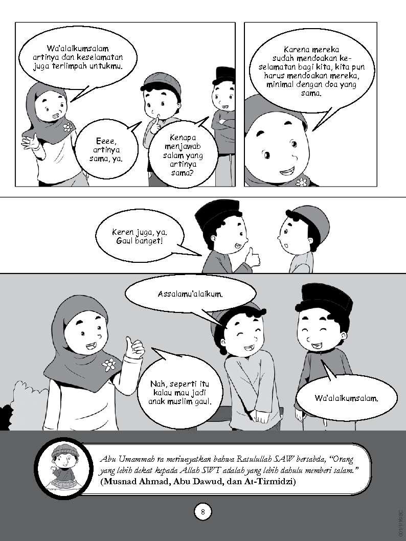 Jual Buku Yuk Jadi Anak Muslim Gaul Oleh Nagiga Gramedia Digital 4