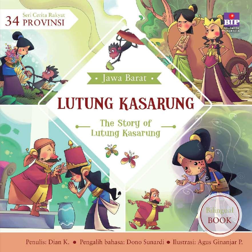 Jual Buku Seri Cerita Rakyat 34 Provinsi Lutung Kasarung