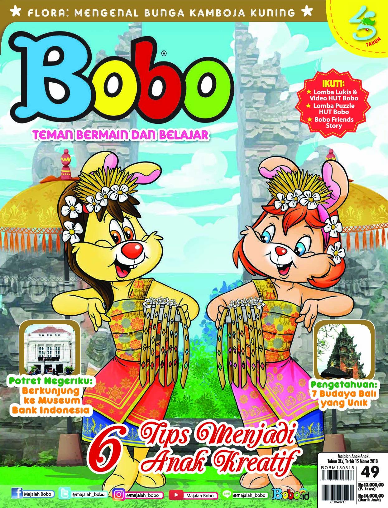 Bobo Magazine Ed 49 March 2018 Gramedia Digital Majalah Tk