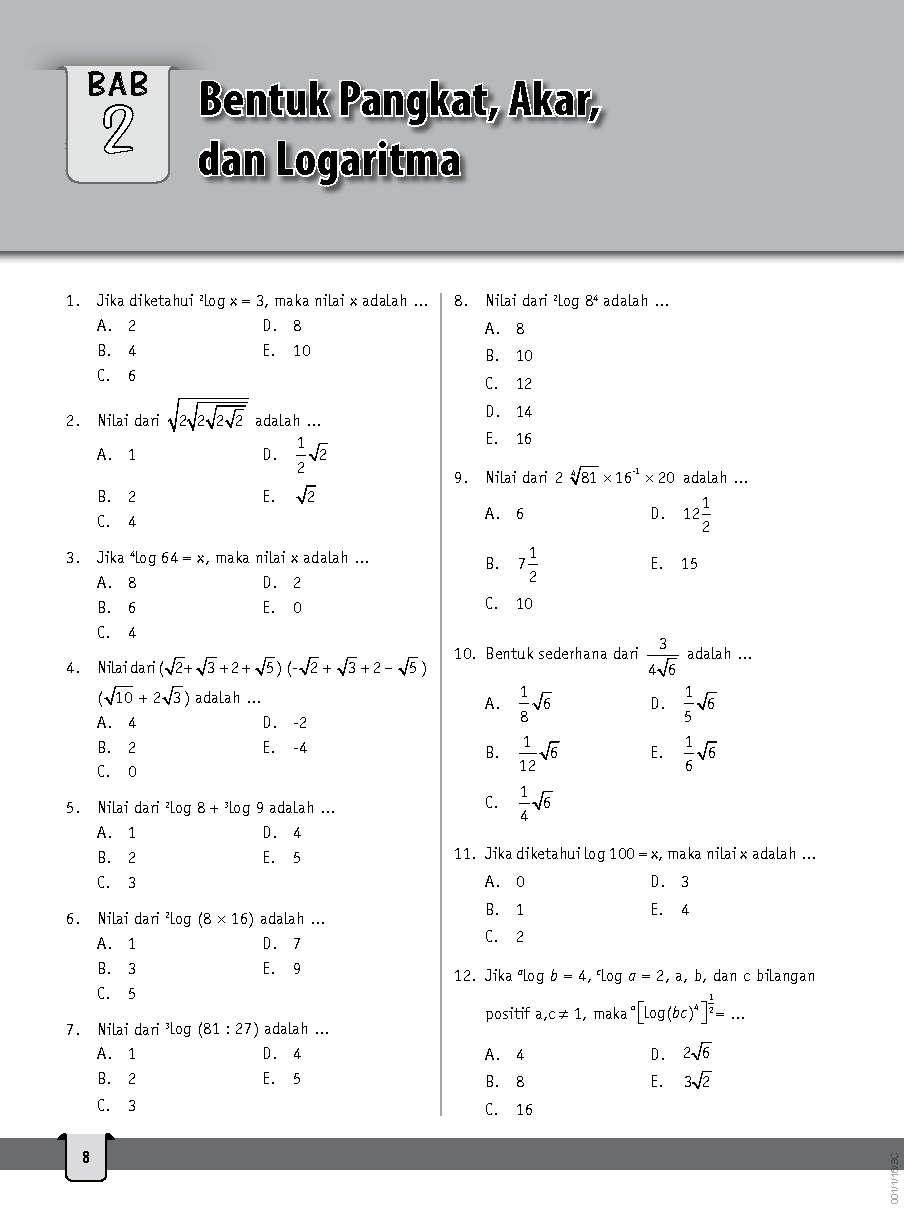 Jual Buku Strategi Cerdas Bank Soal Matematika Sma Kelas X Xi Xii Oleh Tim Smart Nusantara