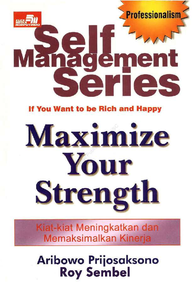 Self Management Series: Maximize Your Strength