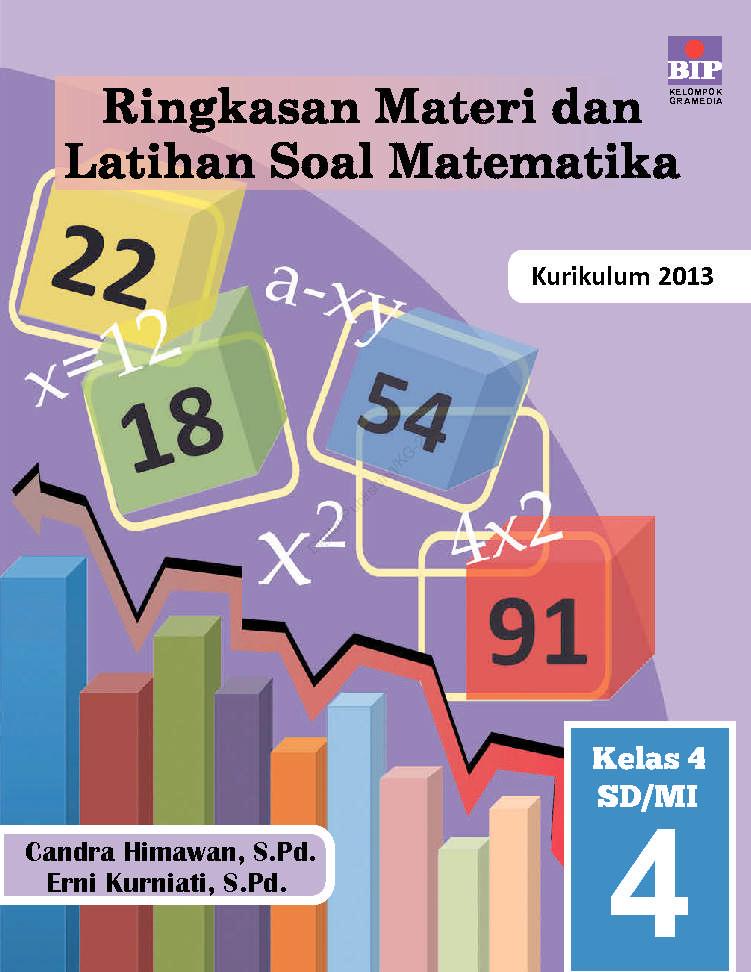 Ringkasan Materi Dan Latihan Soal Matematika Kelas 4 Sd Mi Book By Candra Himawan S Pd Erni
