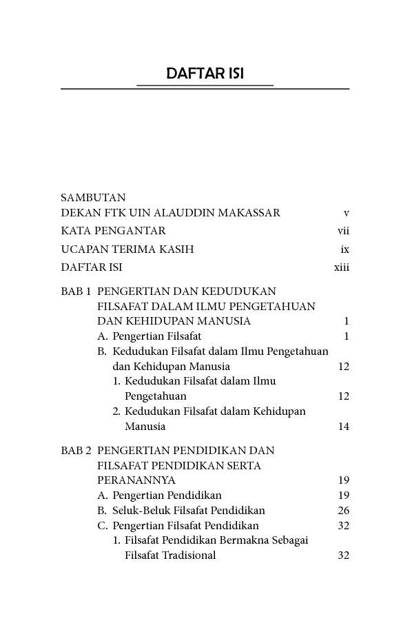 Jual Buku Filsafat Pendidikan Oleh Muhammad Anwar H M Gramedia