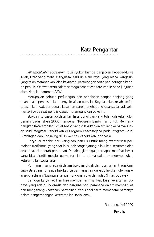 Permainan Tradisional Dan Perannya Dalam Mengembangkan Keterampilan Sosial Anak Book By Euis Kurniati Gramedia Digital
