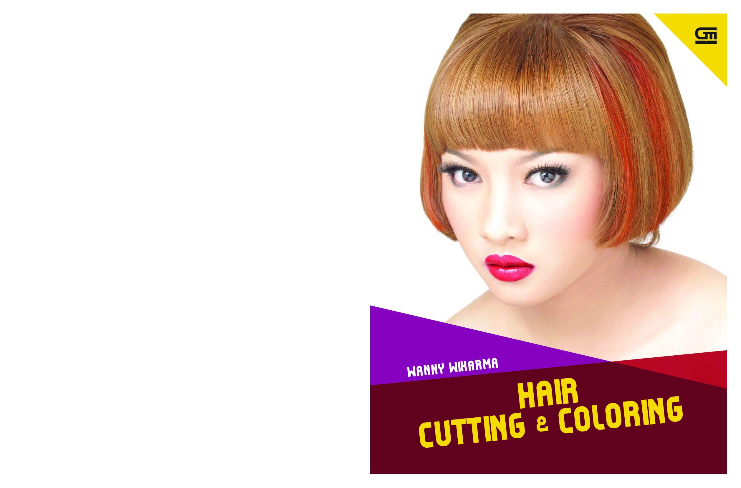 Hair Cutting Amp Coloring Book By Wanny Wikarma