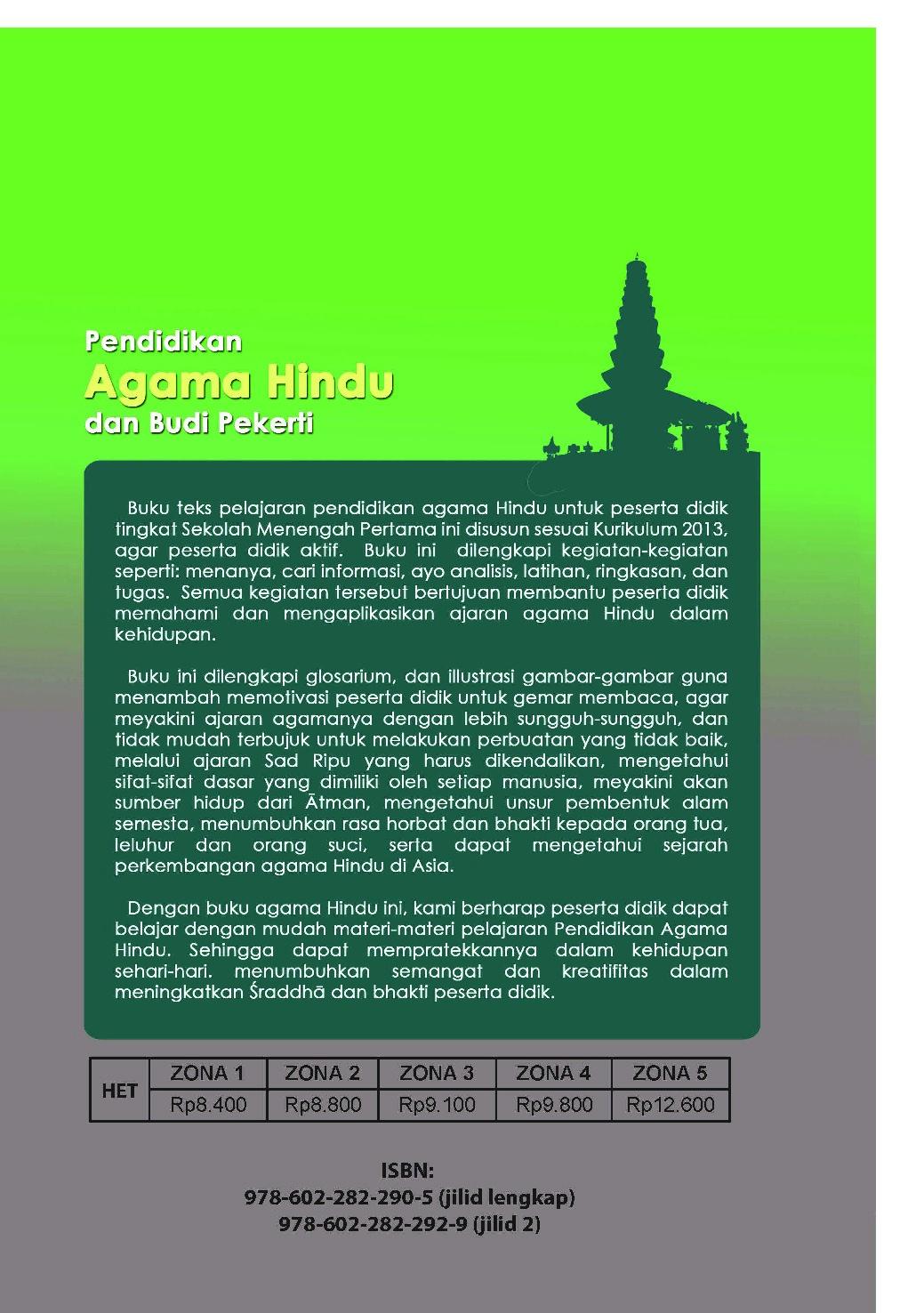 Buku Agama Hindu Kelas 8