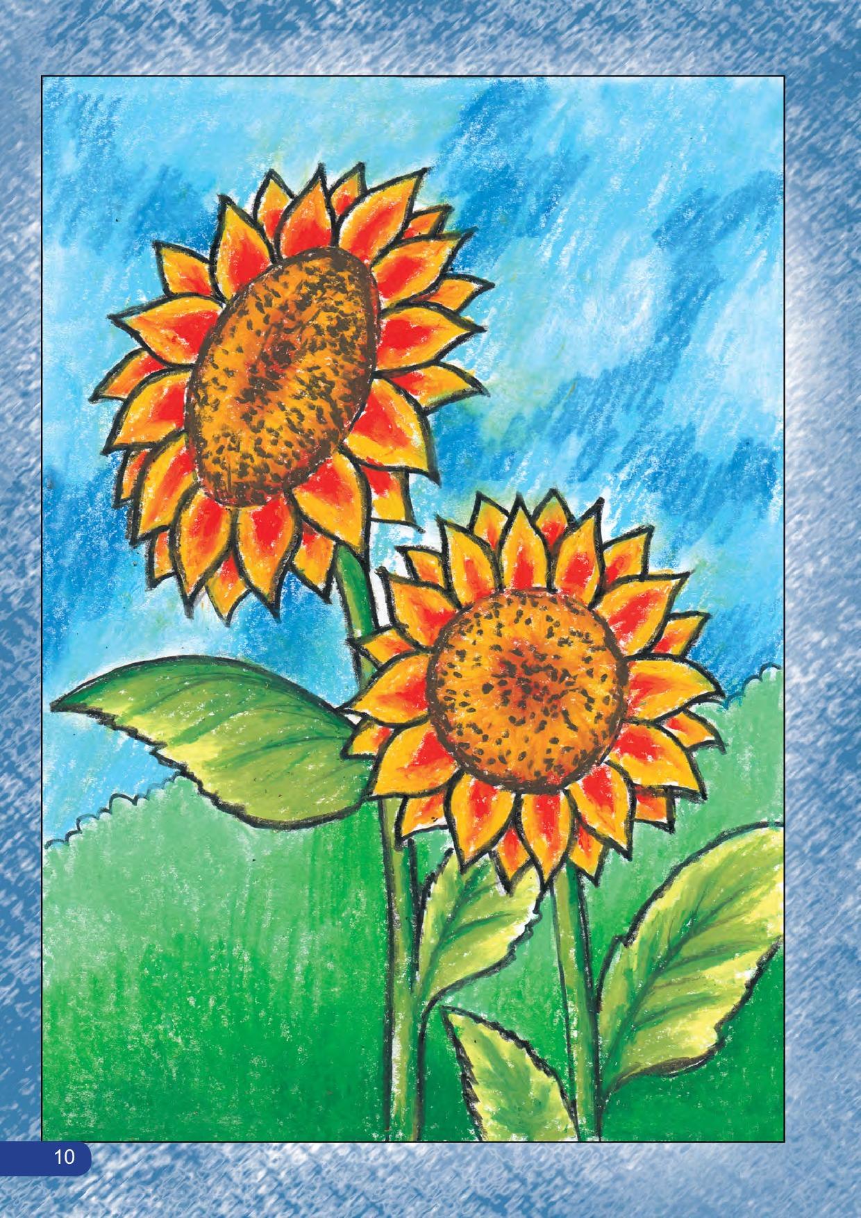 Jual Buku Belajar Menggambar Dan Mewarnai Bunga Dengan Oil