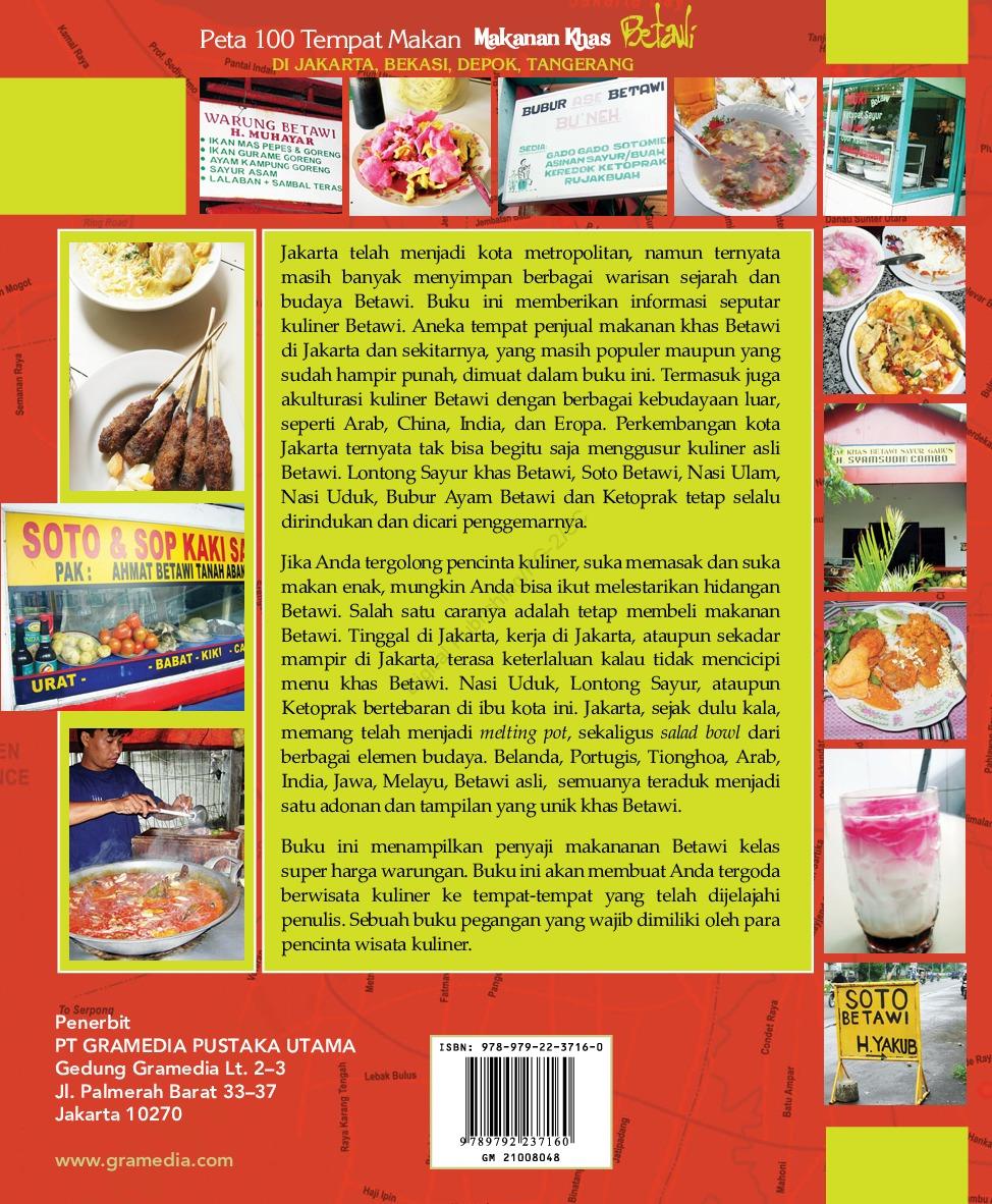 Jual Buku Makanan Khas Betawi Oleh Lilly T Erwin Gramedia Digital Indonesia