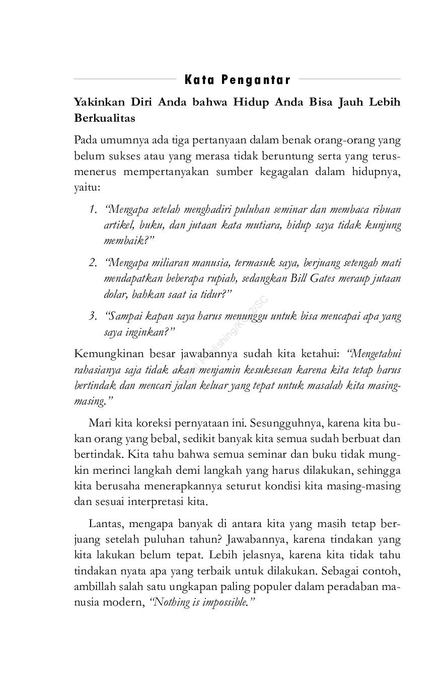 Jual Buku Dahsyatnya Langkah Pertama Oleh Sutanto L Tjokro
