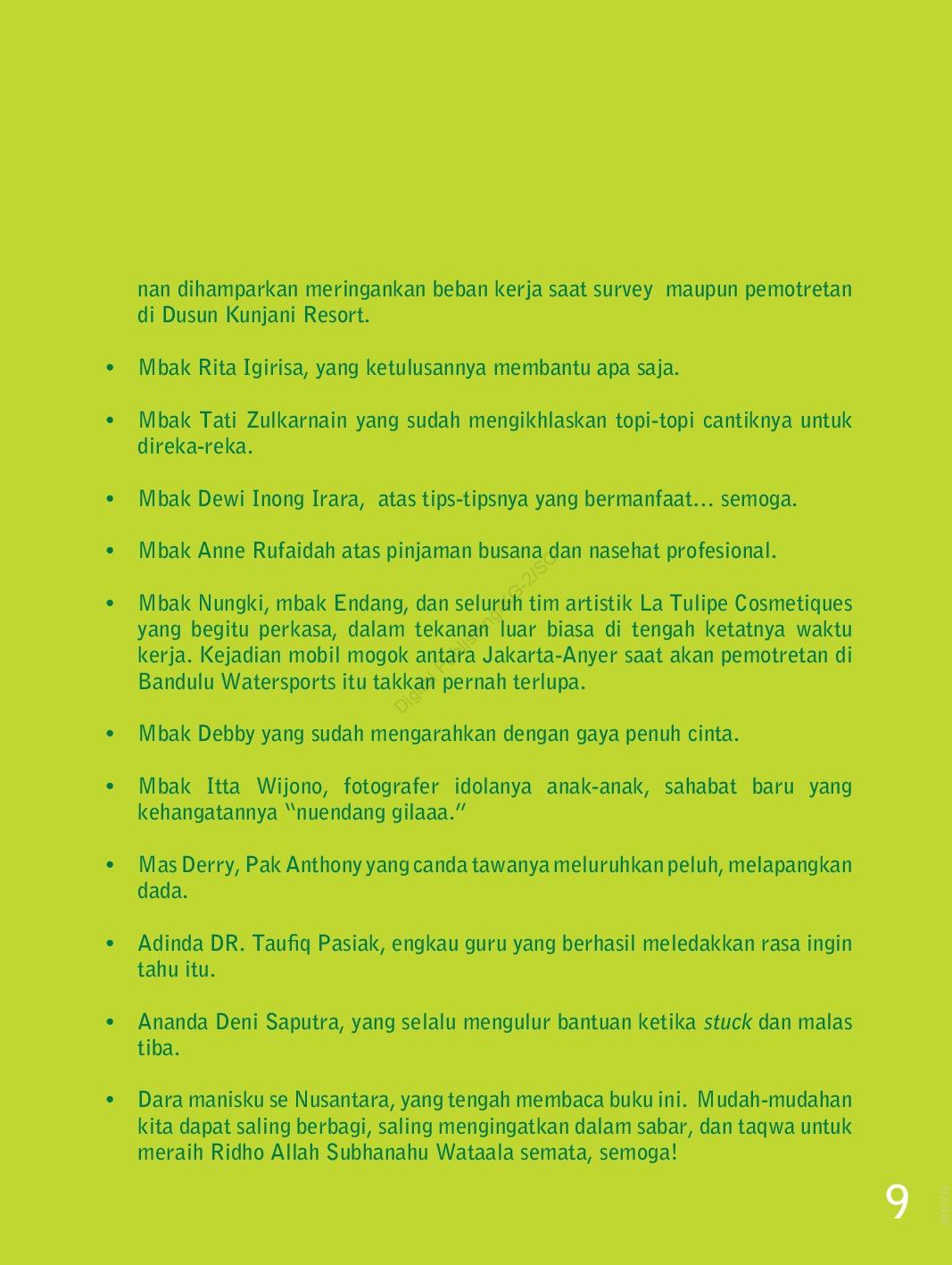 Jual Buku Seri Kerudung Apik: Biarkan Warna Bicara oleh