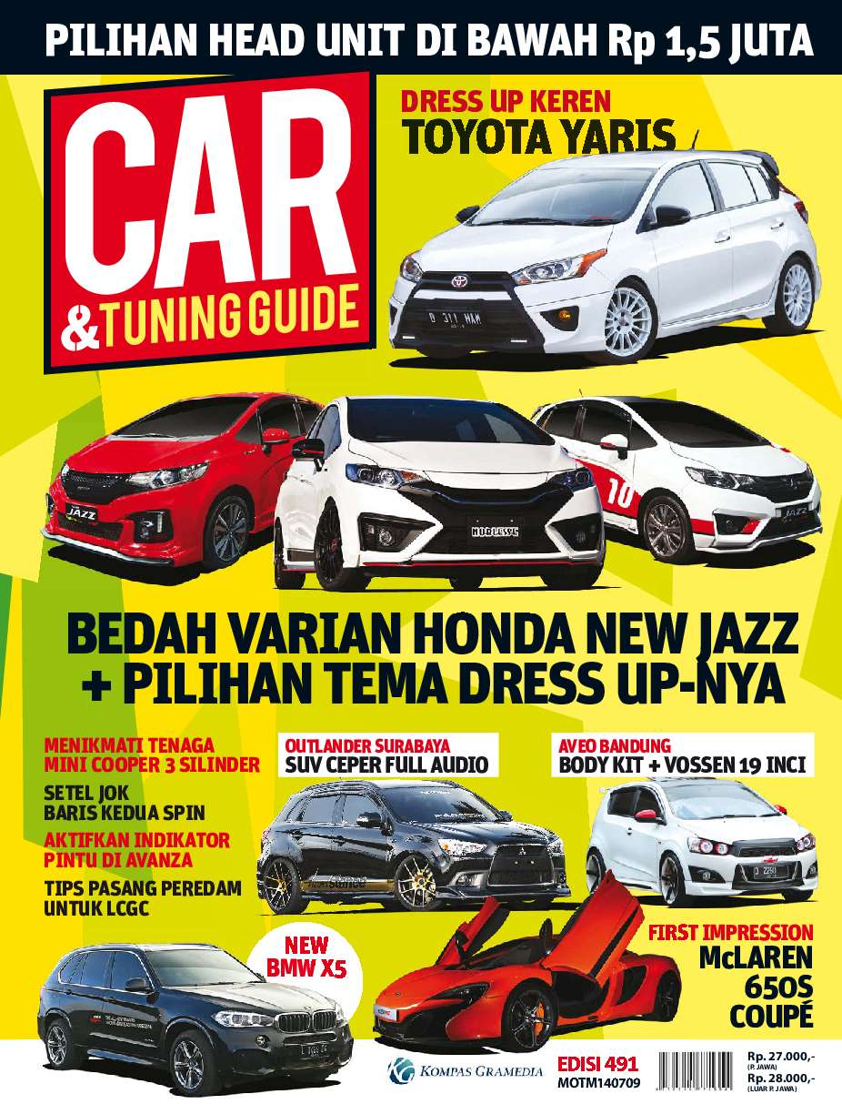 Car tuning guide magazine ed 491 2014