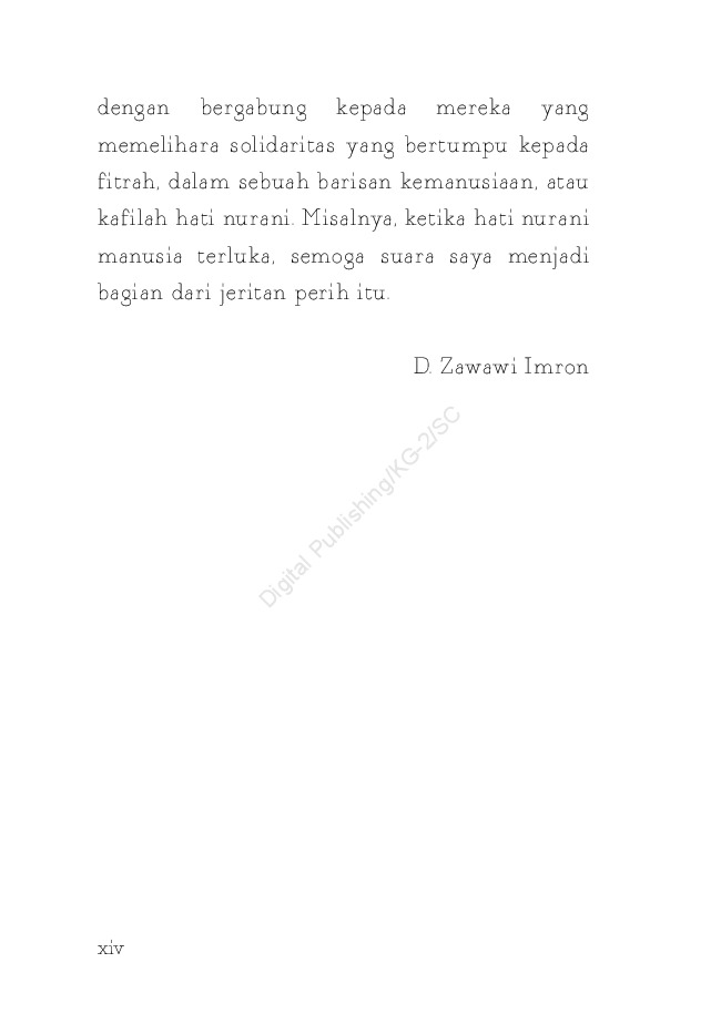 Kata Kata Cinta D Zawawi Imron