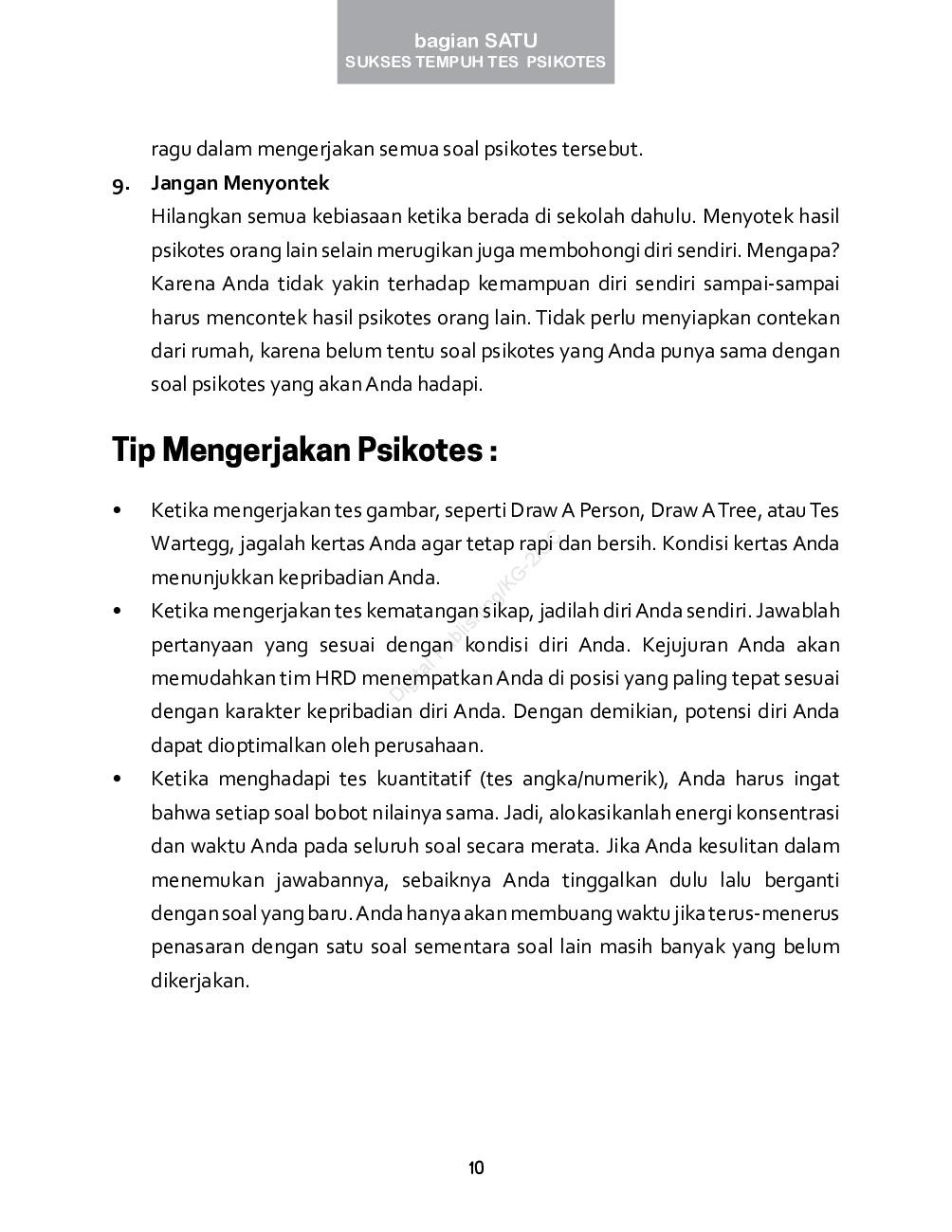 Sukses Tempuh Tes Psikotes Book By Sugi Siswiyanti Gramedia Digital