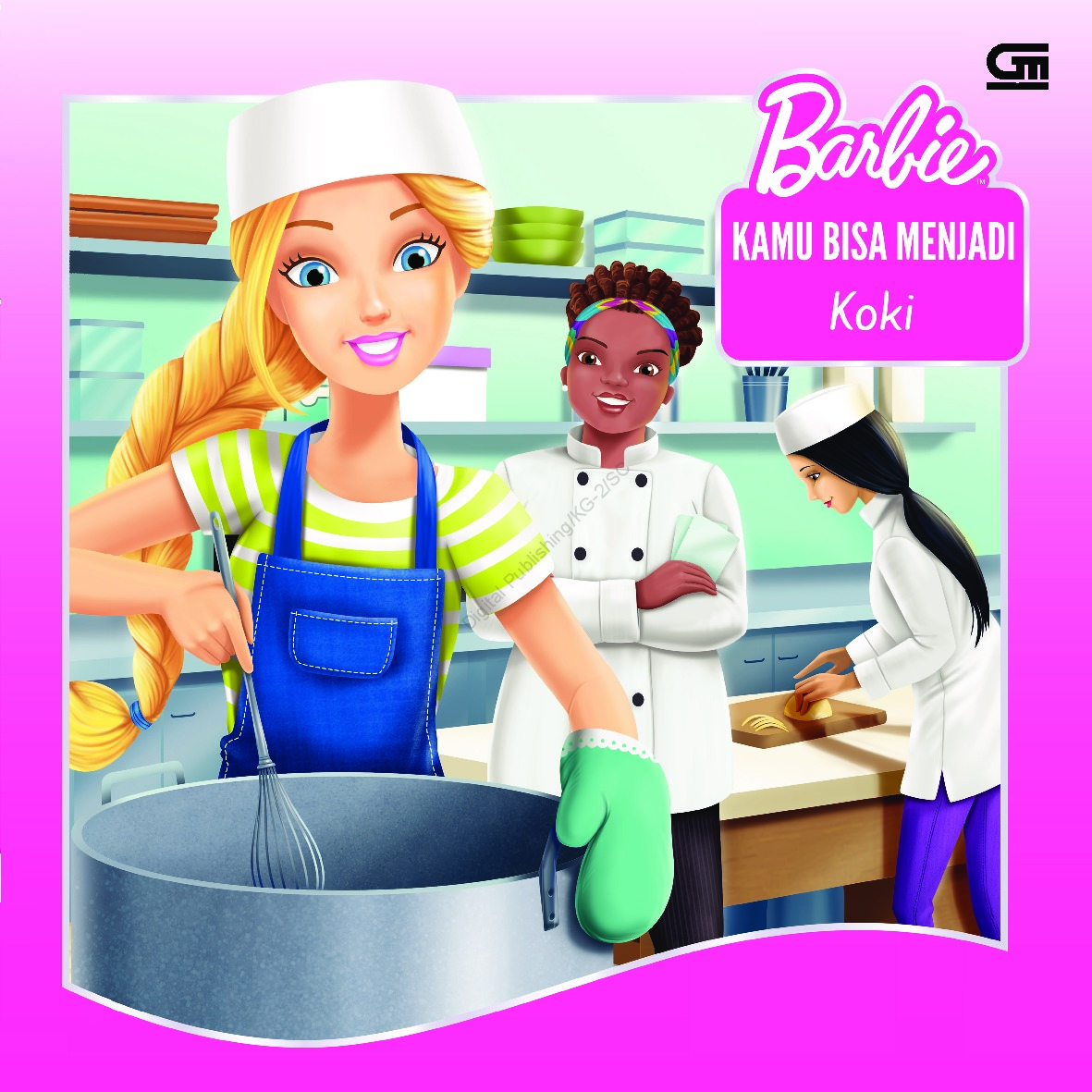 Jual Buku Barbie Kamu Bisa Menjadi Koki You Can Be A Chef Oleh Mattel Gramedia Digital Indonesia