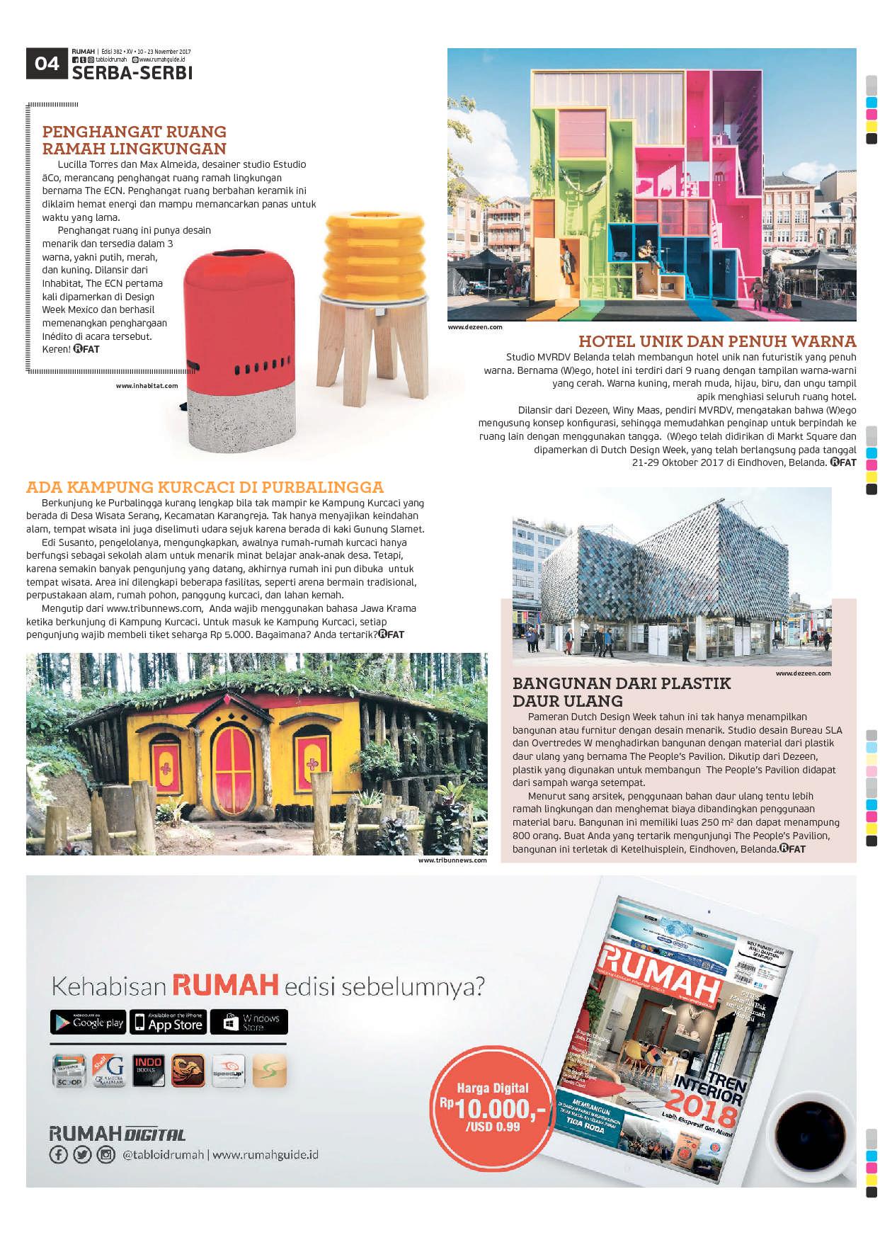 Jual majalah tabloid rumah ed 382 2017 gramedia digital indonesia