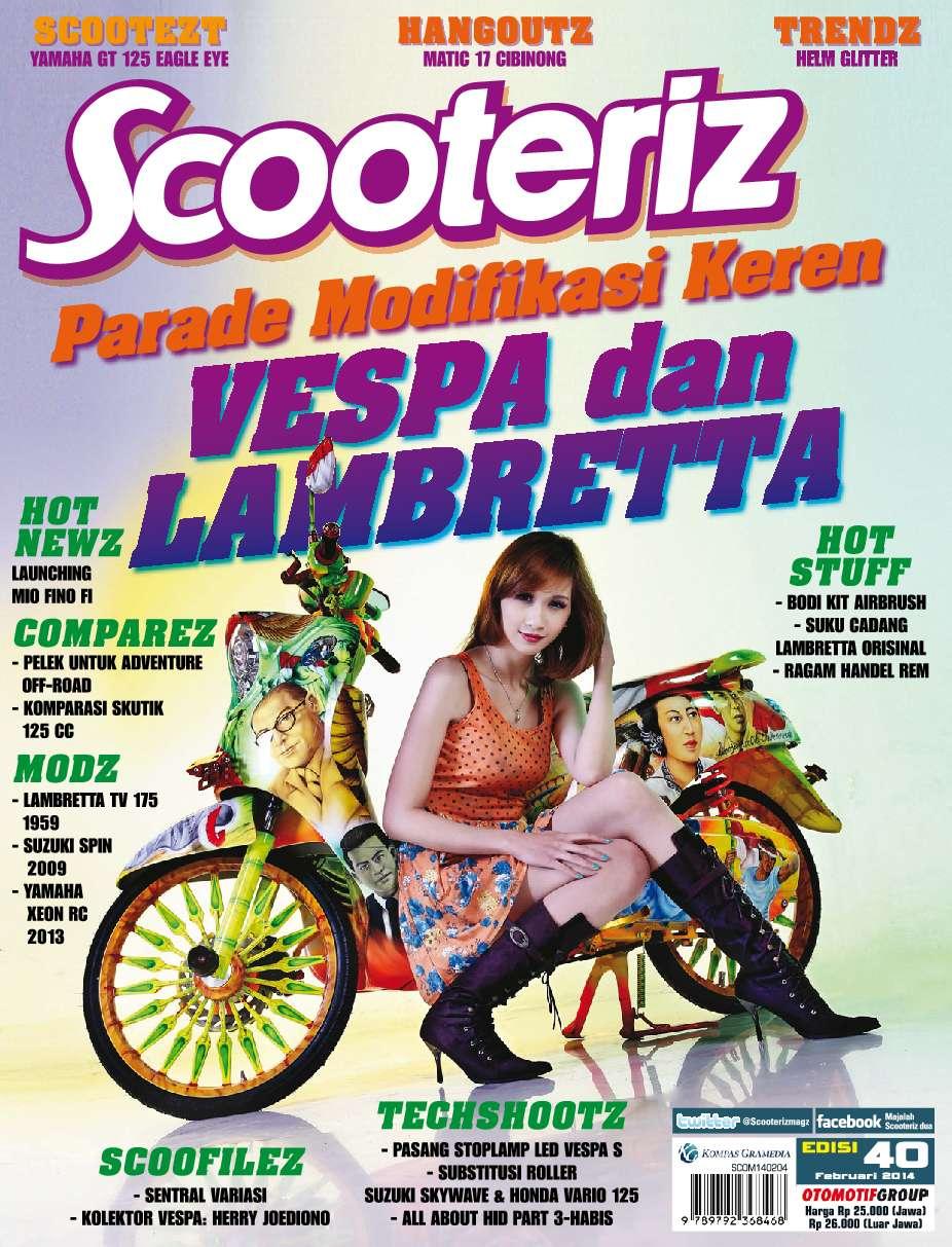 Scooteriz Magazine Ed 40 2014 Gramedia Digital Roller Xeon Rc