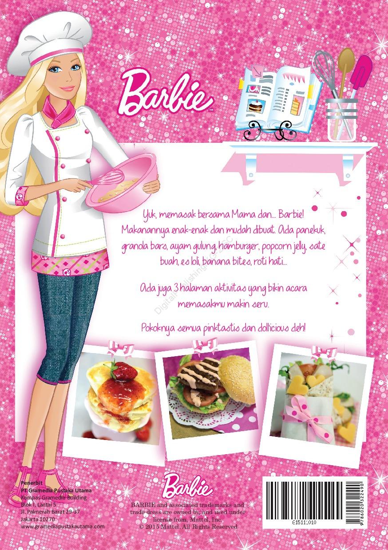 Jual Buku Barbie Ayo Memasak Bersama Oleh Mattel Gramedia Digital Indonesia