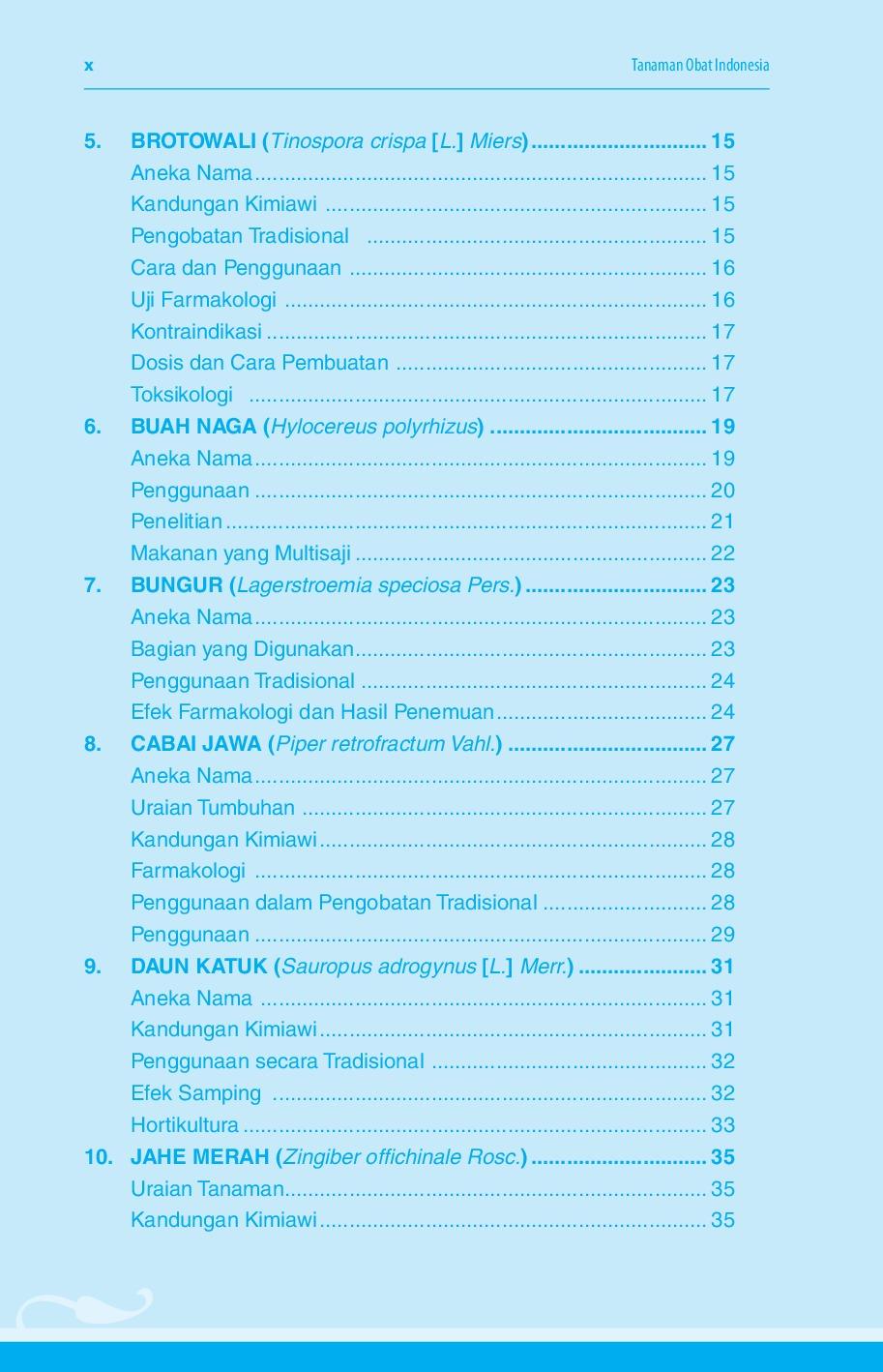 Tanaman obat ebook inventaris indonesia
