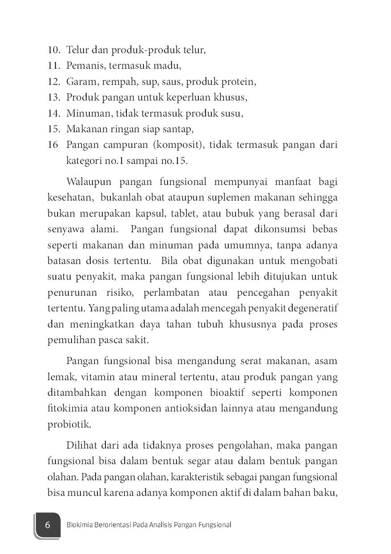 Jual Buku Pangan Fungsional Oleh Tensiska Yana Cahyana Dan Mira