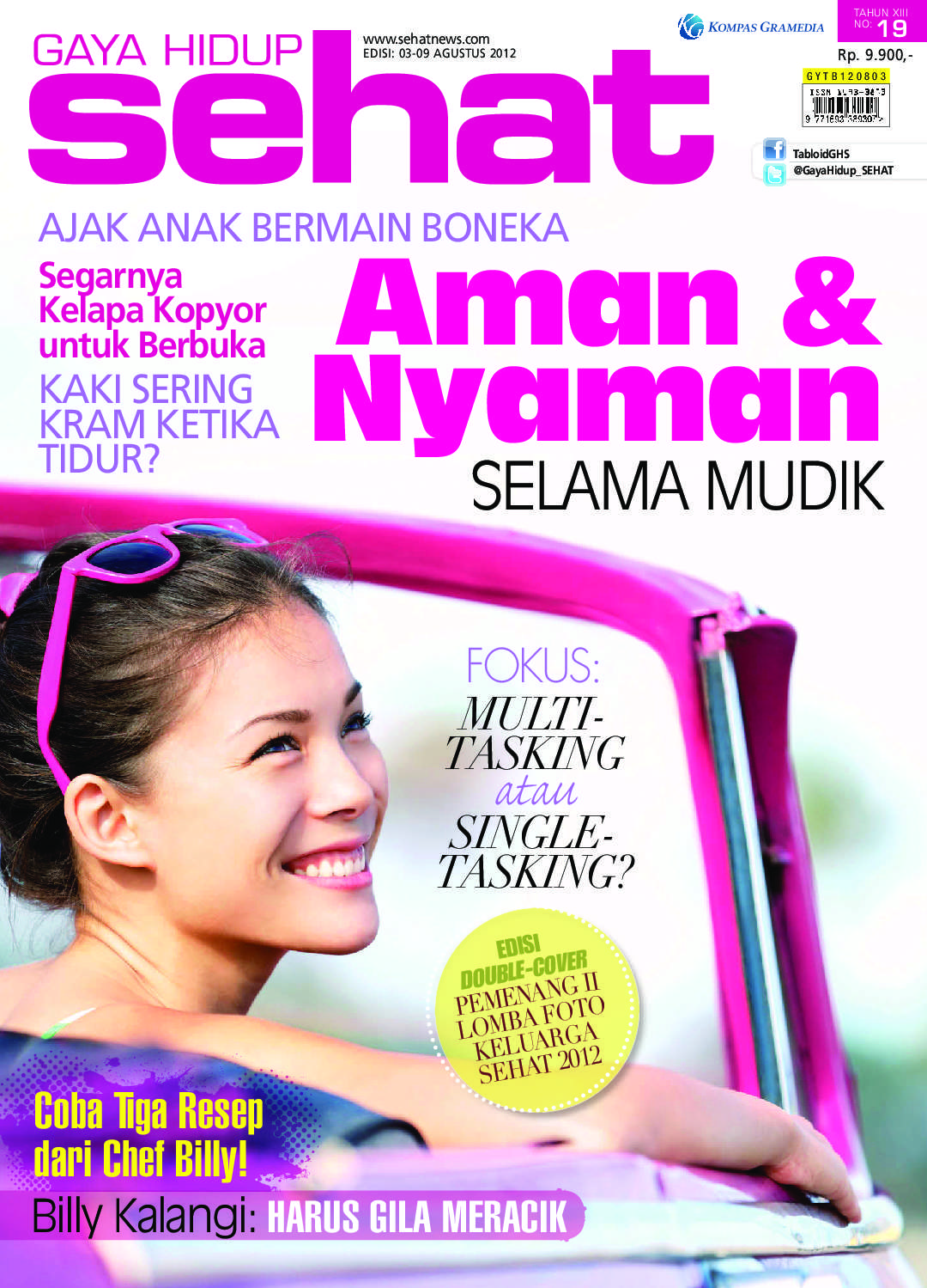 Jual Majalah Gaya Hidup Sehat Ed 19 2012 Gramedia Digital Indonesia