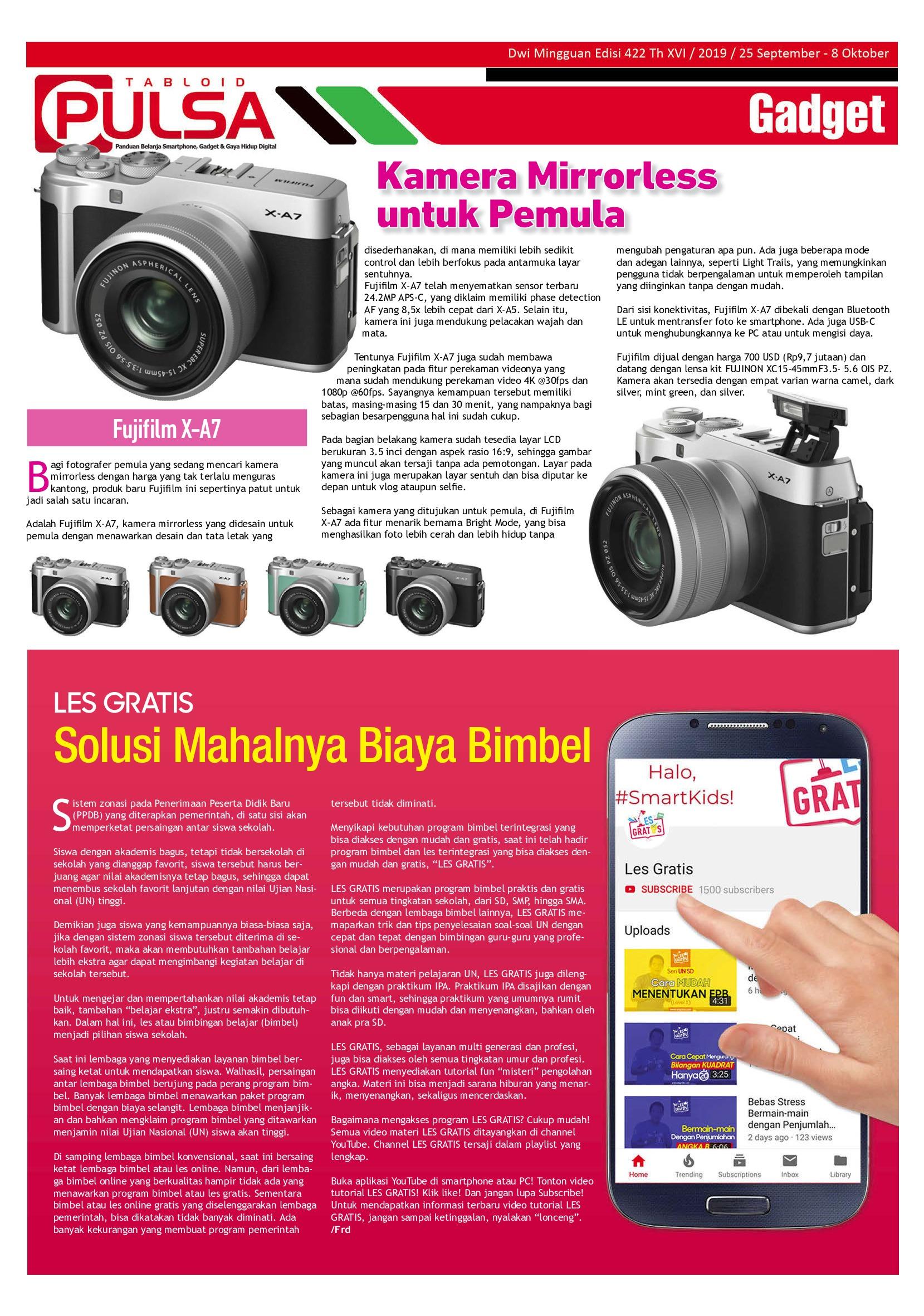 Jual Majalah PULSA ED 422 September 2019 - Gramedia ...