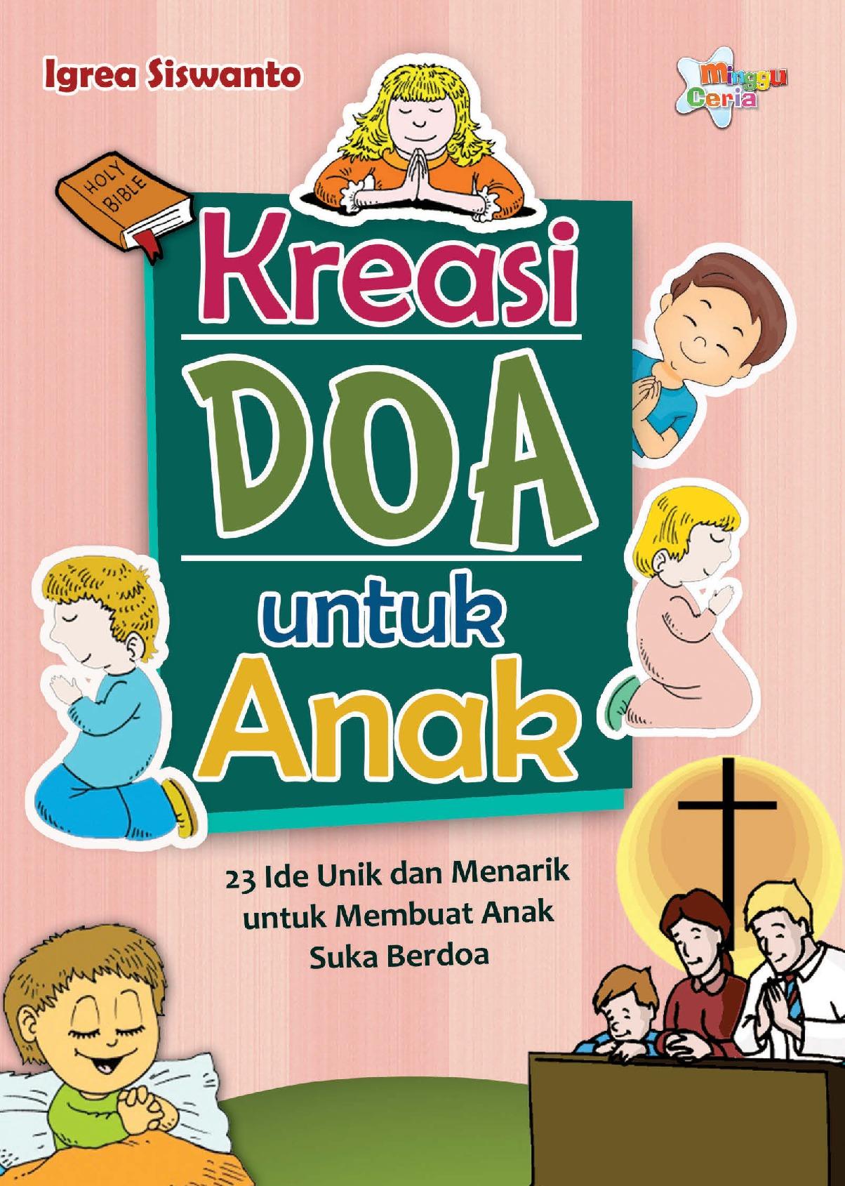 Jual Buku Kreasi Doa Untuk Anak 23 Ide Unik Dan Menarik