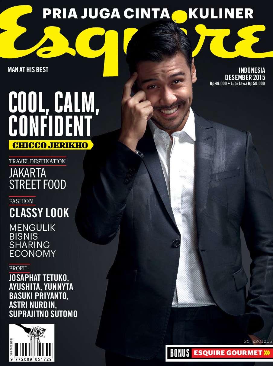 Jual Majalah Esquire Indonesia Desember 2015 - Gramedia