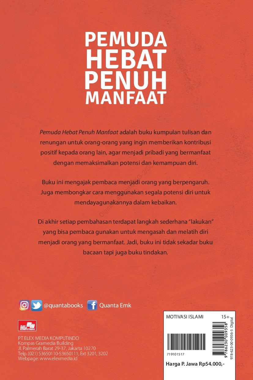Jual Buku Pemuda Hebat Penuh Manfaat Oleh Mohamad Nasrul Gramedia Digital Indonesia