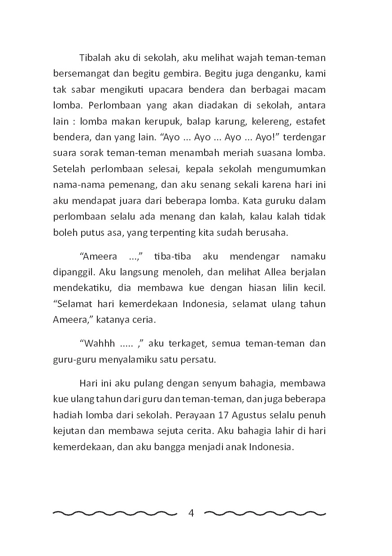 Jual Buku Senyum Tawa Di Hari Kemerdekaan Oleh Kelas Menulis Cerita Anak Gramedia Digital Indonesia