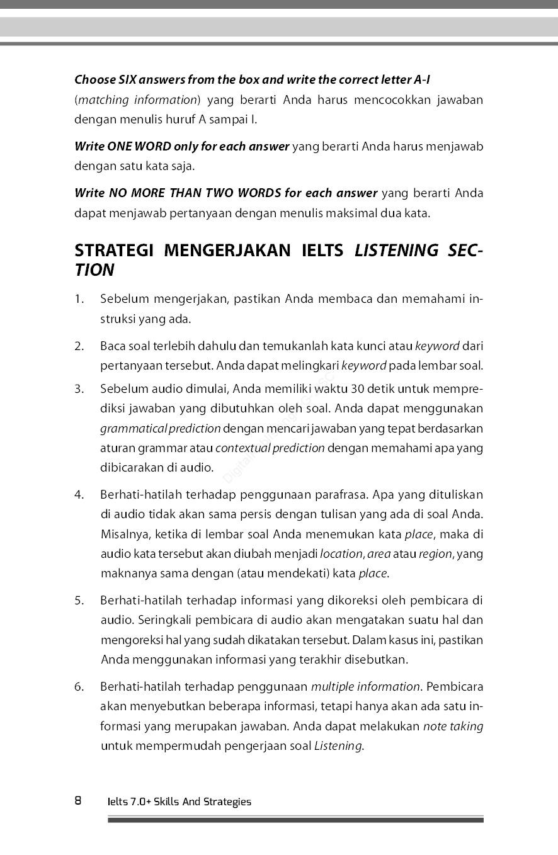 Jual Buku Ielts 7 0 Skills And Strategies Oleh Rosyid Anwar Gramedia Digital Indonesia