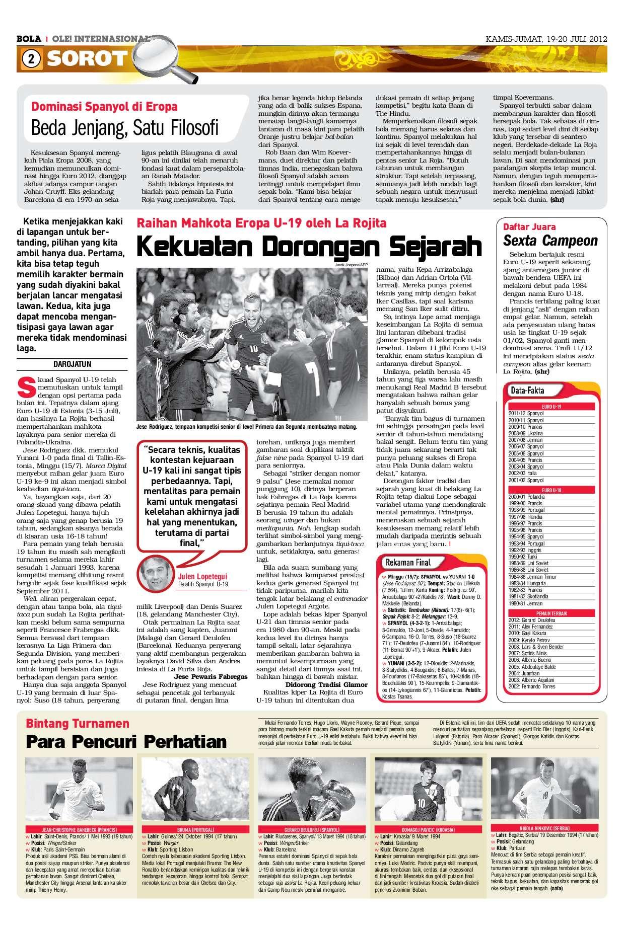 Bola Kamis Magazine Ed 2379 2012 Gramedia Digital