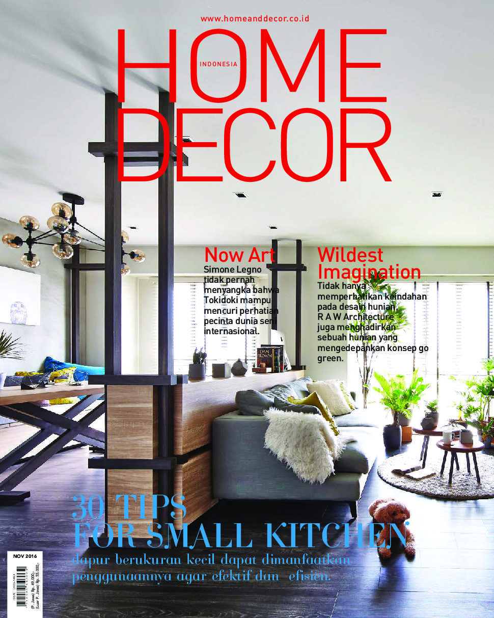 Home decor indonesia magazine november 2016 gramedia for November home decorations