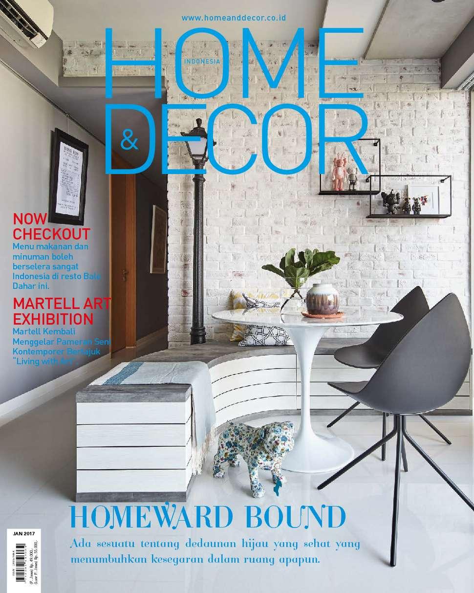 Home Decor Indonesia Magazine January 2017 Gramedia