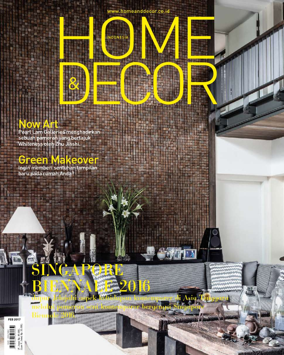 home and decor indonesia home amp decor indonesia magazine february 2017 gramedia 10894