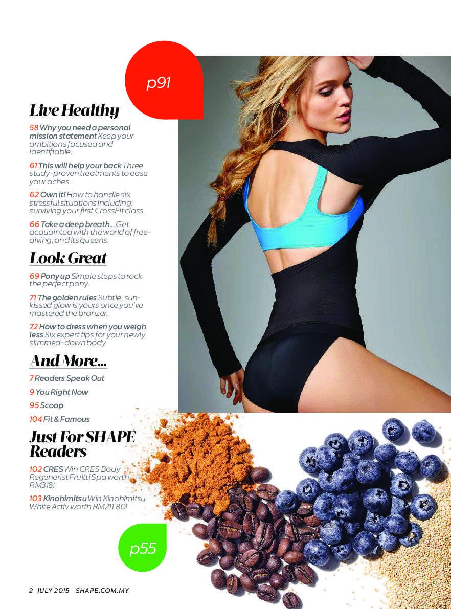 ca3952142fac4 SHAPE Malaysia Magazine July 2015 - Gramedia Digital
