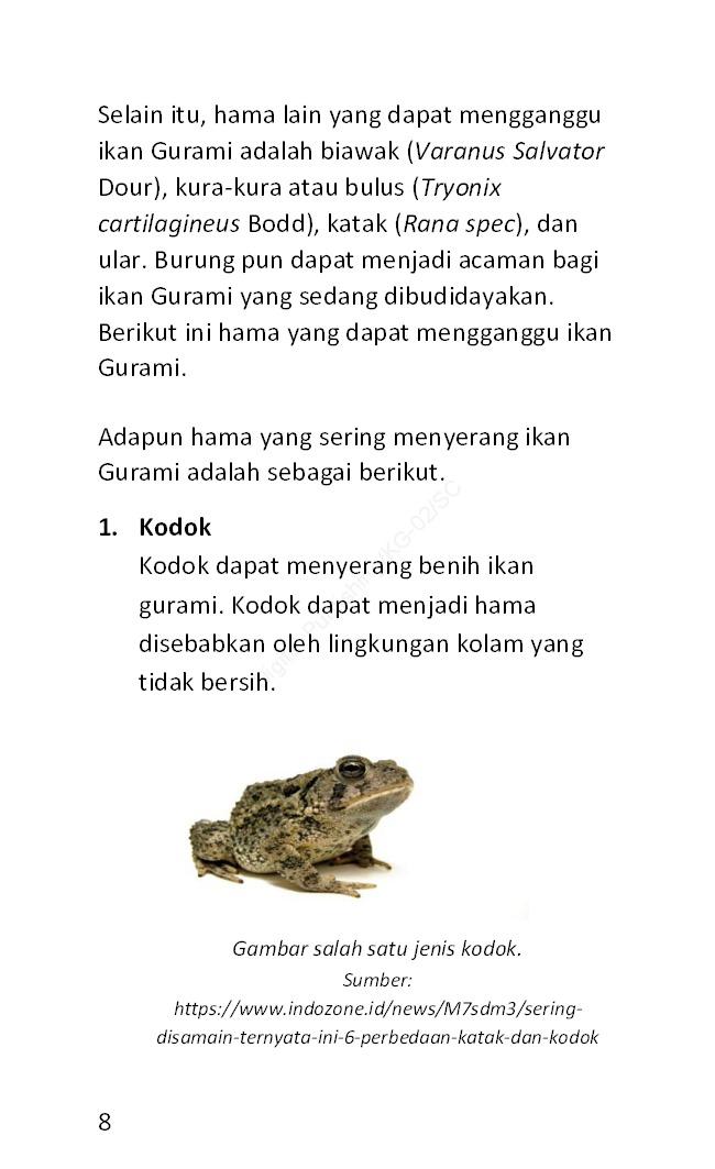 Cara Mudah Mengatasi Penyakit Pada Ikan Gurame Book By Langgeng Prima Anggradinata Gramedia Digital