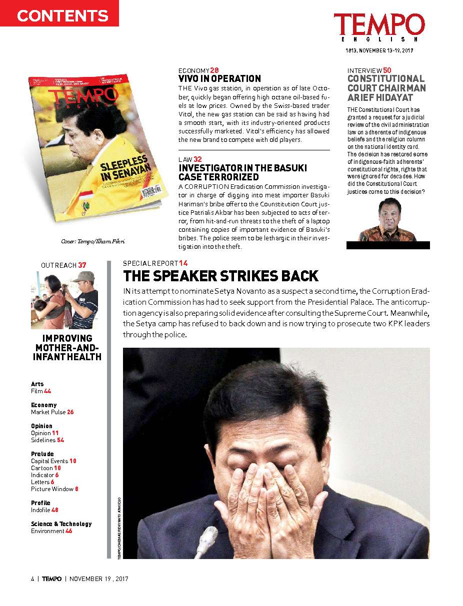 TEMPO ENGLISH Magazine ED 1573 13–19 November 2017 - Gramedia Digital