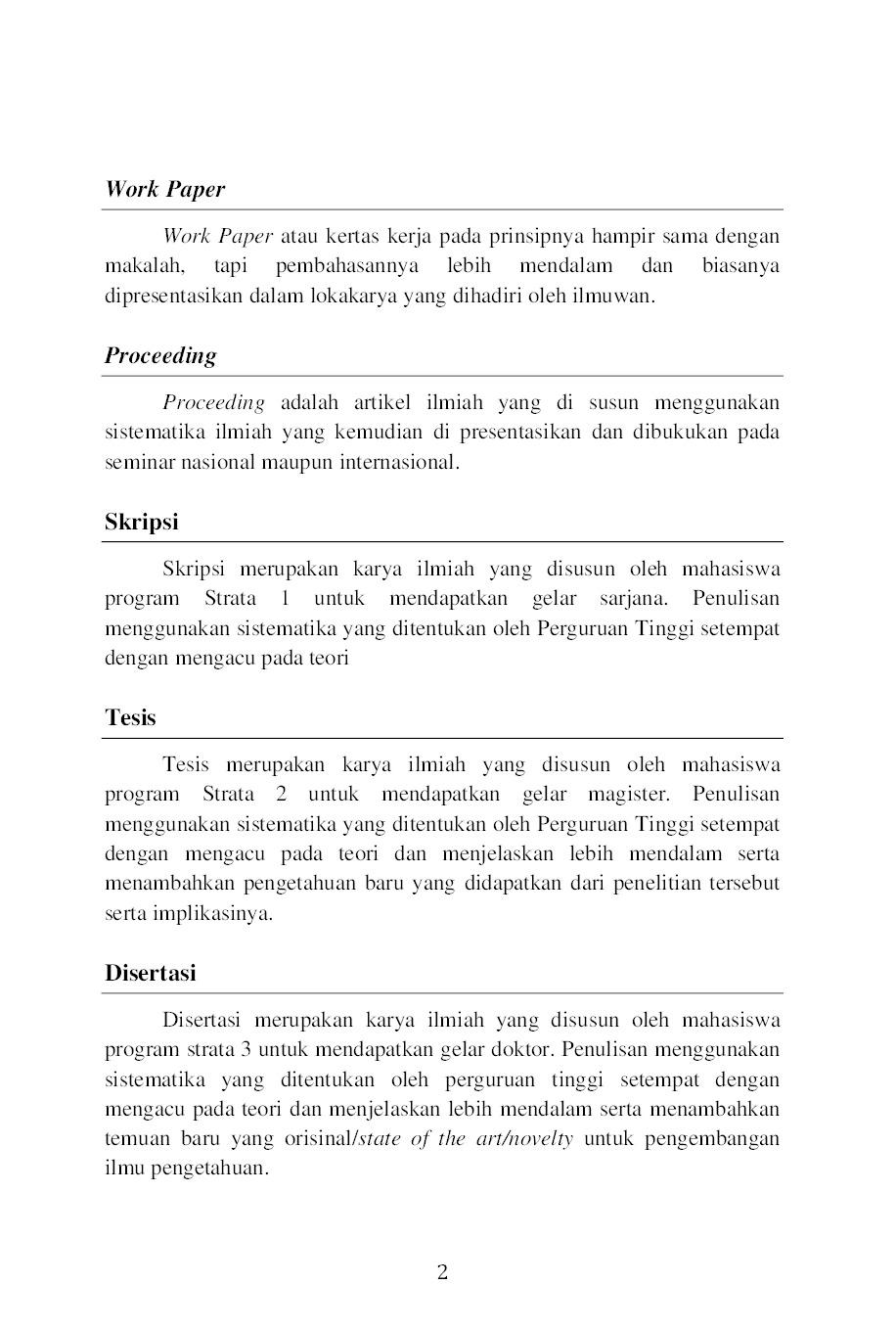 Jual Buku Panduan Penulisan Naskah Karya Ilmiah Jurnal Nasional Dan Internasional Bereputasi Oleh Ni Putu Dyah Krismawintari I Gusti Bagus Rai Utama Gramedia Digital Indonesia
