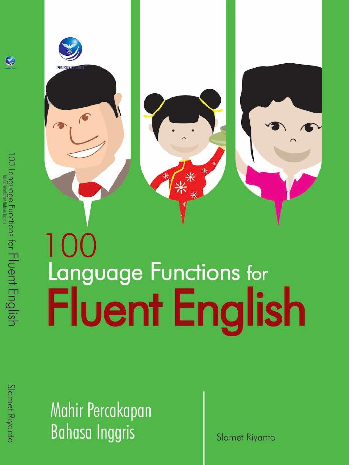 100 Language Function for Fluent English, Mahir Percakapan Bahasa Inggris